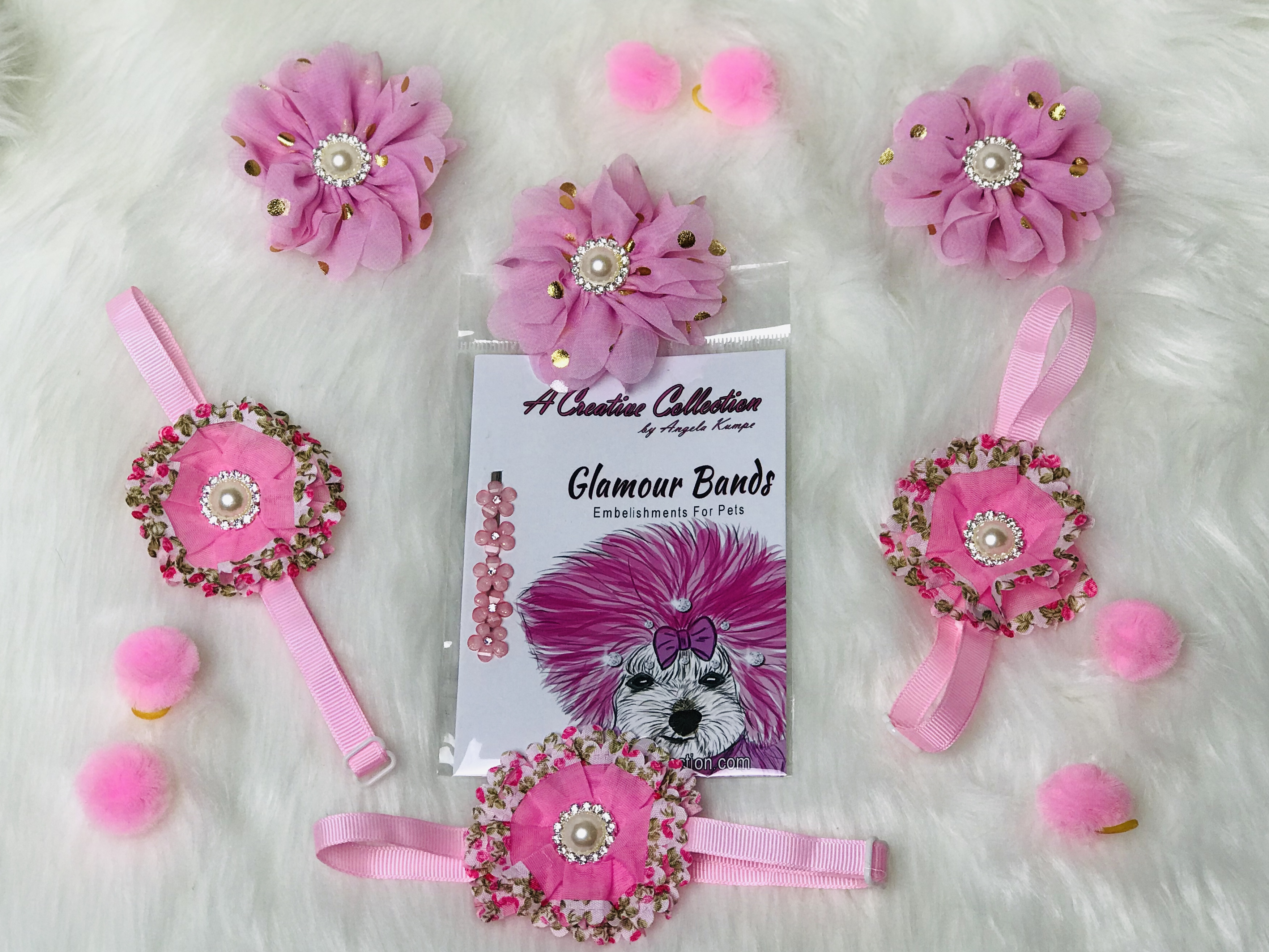 Light Pink Accessories set