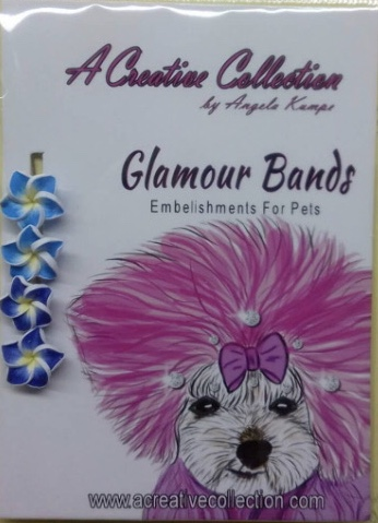 Mixed blue Lilly glamour bands