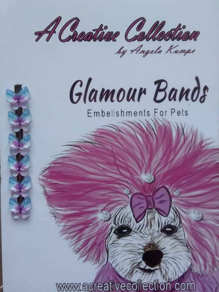 Teal and purple butterfly glamour bands