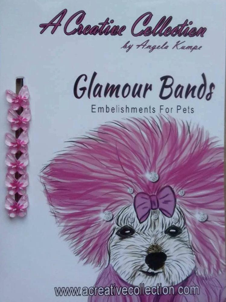 Pink butterfly glamour bands