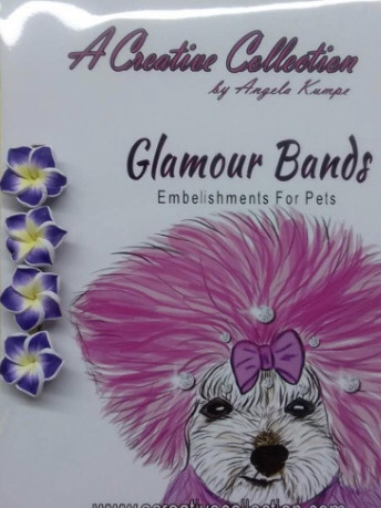Purple Lilly glamour bands
