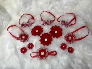 Red accessories set A