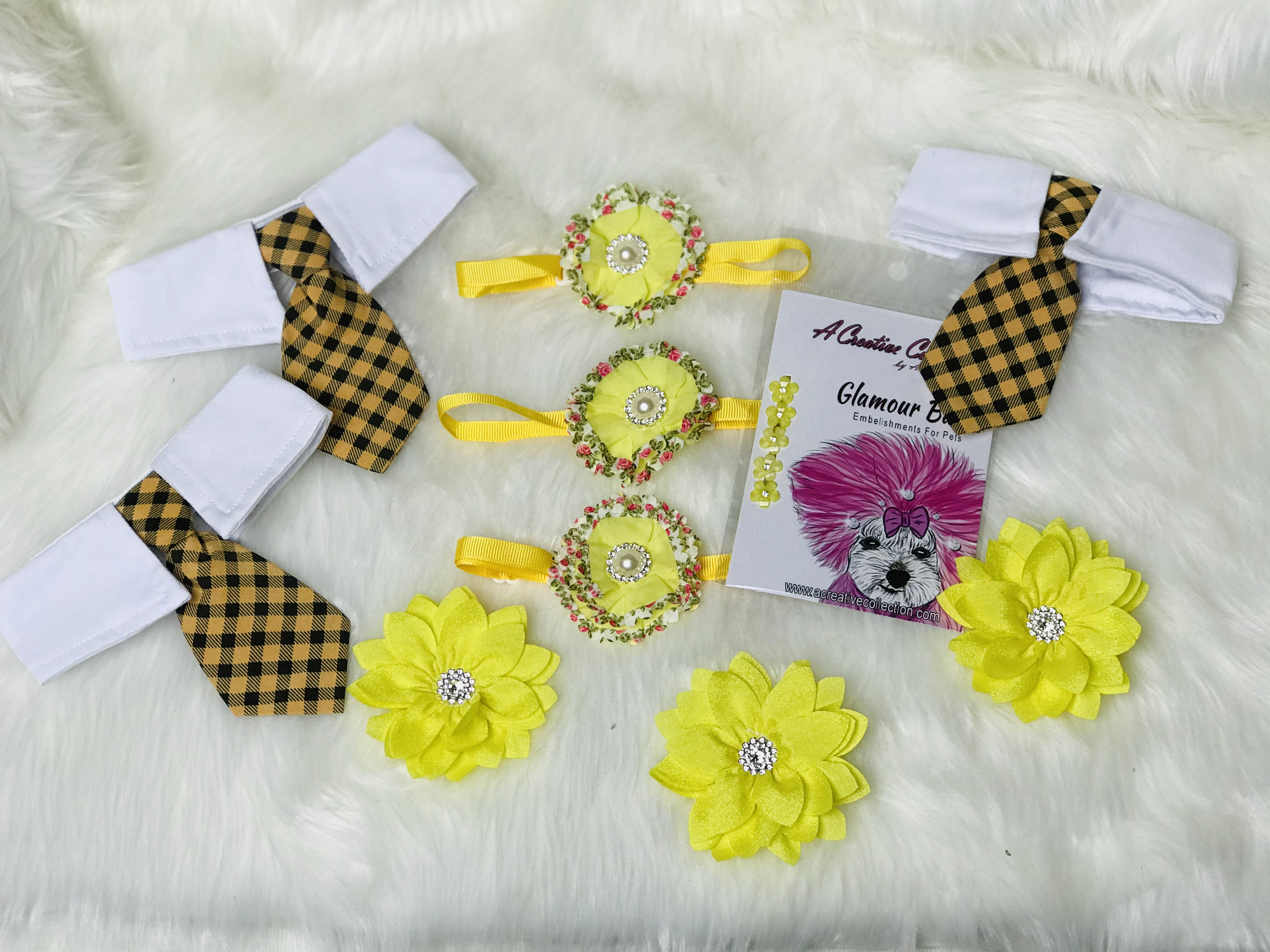Yellow accessories set B