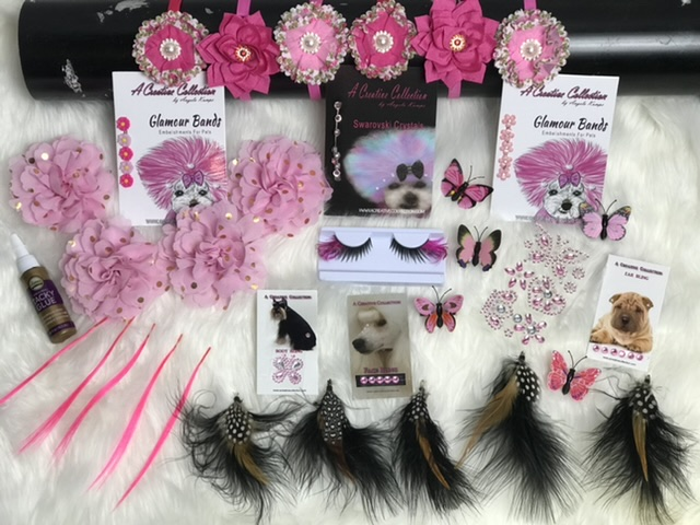 Pretty in pink accessories box