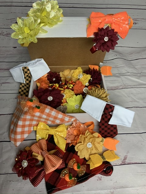 Fall y'all bow box