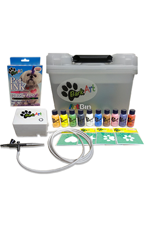 Bark Art airbrush Kit
